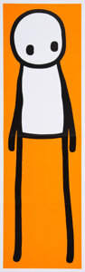 Pulp, Pulp-like, Digests and Paperback Art, Stik (20th century). Stik, 2016. Hardcover book with poster. 10-1/2 x 8-3/4 x 1 inches (26.7 x 22.2 x 2.5 cm) (book). 30...