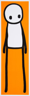 Stik (20th century) Stik, 2016 Hardcover book with poster 10-1/2 x 8-3/4 x 1 inches (26.7 x 22.2