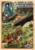 "Movie Posters:Drama, Memories That Haunt (Vitagraph, 1914). Fine/Very Fine on Linen. European Poster (55"" X 78.5"").. ..."