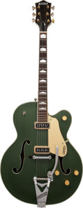 Musical Instruments:Electric Guitars, 1955 Gretsch 6196 Country Club Cadillac Green Archtop Electric Guitar, Serial #32704.. ...