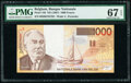 Belgium Banque Nationale de Belgique 1000 Francs ND (1997) Pick 150 PMG Superb Gem Unc 67 EPQ