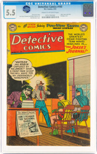 Detective Comics #193 (DC, 1953) CGC FN- 5.5 Cream to off-white pages