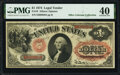 Large Size:Legal Tender Notes, Fr. 19 $1 1874 Legal Tender PMG Extremely Fine 40.. ...