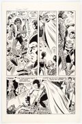 Original Comic Art, Frank Thorne Far Out Green Super Cool #2 Story Page 3 Original Art (Social Welfare Research Foundation, 1972)....