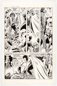 Frank Thorne Far Out Green Super Cool #2 Story Page 3 Original Art (Social Welfare Research Foundation, 1972)