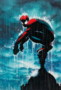 John Romita Sr., John Romita, Jr., and José Villarrubia Spider-Man Limited Print #242/250 (Marvel Comics, 2000s)...