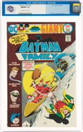 Bronze Age (1970-1979):Superhero, Batman Family #4 (DC, 1976) CGC NM/MT 9.8 Off-white to white pages....