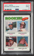 Baseball Cards:Singles (1970-Now), 1977 Topps Rookie Outfielders #473 PSA Mint 9....