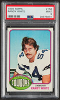 Football Cards:Singles (1970-Now), 1976 Topps Randy White #158 PSA Mint 9....
