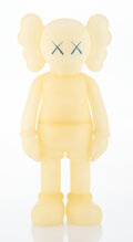 Collectible, KAWS (b. 1974). Five Years Later Companion (Blue Glow in the Dark), 2004. Cast vinyl. 14-3/4 x 6-1/2 x 3-1/2 inches (37....