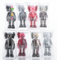 KAWS (b. 1974) Companion and Dissected Companion (set of 8), 2016 Painted cast vinyl 1
