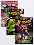 Silver Age (1956-1969):Superhero, The Amazing Spider-Man Related Group of 5 (Marvel, 1966-84) Condition: FN+.... (Total: 5 Comic Books)
