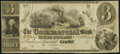 Obsoletes By State:Michigan, Gratiot, MI- Commercial Bank $3 18__ Remainder Extremely Fine-About Uncirculated.. ...