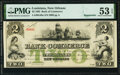 Obsoletes By State:Louisiana, New Orleans, LA- Bank of Commerce $2 May 5, 1862 G48a Remainder PMG About Uncirculated 53 EPQ.. ...