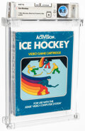 Video Games:Nintendo, Ice Hockey - Wata 8.0 A Sealed [1981 Blue box], 2600 Activision 1981 USA....