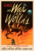 "Movie Posters:Science Fiction, The War of the Worlds (Paramount, 1953). Fine/Very Fine on Linen. One Sheet (27"" X 41"").. ..."