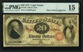 Large Size:Legal Tender Notes, Fr. 128 $20 1875 Legal Tender PMG Choice Fine 15.. ...