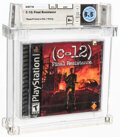 Video Games:Playstation, C-12: Final Resistance - Wata 8.5 B+ Sealed [Sony Security Label], PS1 Sony 2002 USA. ...