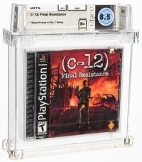 C-12: Final Resistance - Wata 8.5 B+ Sealed [Sony Security Label], PS1 Sony 2002 USA
