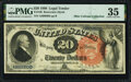 Large Size:Legal Tender Notes, Fr. 136 $20 1880 Legal Tender PMG Choice Very Fine 35.. ...