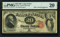 Large Size:Legal Tender Notes, Fr. 145 $20 1880 Legal Tender PMG Very Fine 20.. ...
