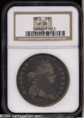Early Dollars: , 1803 $1 Small 3 VF35 NGC. B-4, BB-254, R.3. Deeply toned ...
