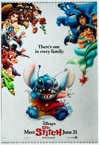 Lilo & Stitch Holographic Theatrical One Sheet and Poster (Walt Disney, 2002).... (Total: 2 )