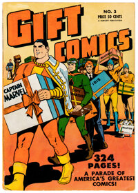 Gift Comics #3 (Fawcett Publications, 1949) Condition: VG/FN