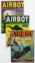 Golden Age (1938-1955):Adventure, Airboy Comics/Boy Comics Group of 6 (Hillman/Lev Gleason, 1949-52) Condition: Average VG.... (Total: 6 Comic Books)