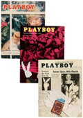 Magazines:Miscellaneous, Playboy 1954-55 Group of 8 (HMH Publishing, 1954-55) Condition: Average FN-.... (Total: 8 Items)