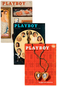 Playboy 1955-1957 Group of 14 (HMH Publishing, 1955-57) Condition: Average VG/FN.... (Total: 14 Items)