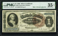 Large Size:Silver Certificates, Fr. 220 $1 1886 Silver Certificate PMG Choice Very Fine 35 EPQ.. ...