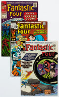 Silver Age (1956-1969):Superhero, Fantastic Four Group of 34 (Marvel, 1965-80) Condition: Average FN/VF.... (Total: 34 Comic Books)