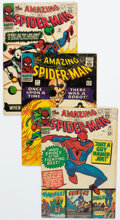 Silver Age (1956-1969):Superhero, The Amazing Spider-Man #32 and 36-38 Group (Marvel, 1966-69) Condition: Average VG/FN.... (Total: 4 Comic Books)