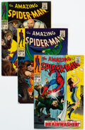 Silver Age (1956-1969):Superhero, The Amazing Spider-Man Group of 9 (Marvel, 1967-69) Condition: Average VG/FN.... (Total: 9 Comic Books)
