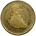 Colombia, Colombia: Charles IV gold Escudo 1796 P-JF AU55 PCGS,...