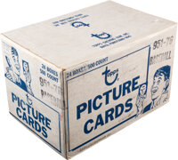 1976 Topps Baseball Vending Case With Twenty-Four 500 Count Boxes!
