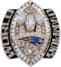 Football Collectibles:Others, 2004 New England Patriots Super Bowl XXXIX Championship Ring Presented to Safety Dexter Reid....
