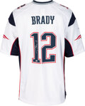 Football Collectibles:Uniforms, 2012 Tom Brady Signed New England Patriots Jersey from 12/4 Private Signing....