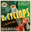 "Doctor Cyclops (Paramount, 1940). Fine+ on Linen. Six Sheet (79.5"" X 80.75"")"