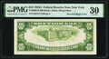 Inverted Back Error Fr. 2006-B $10 1934A Federal Reserve Note. PMG Very Fine 30
