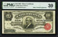 Large Size:Silver Certificates, Fr. 300 $10 1891 Silver Certificate PMG Very Fine 30.. ...