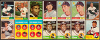 1961 to 1963 Topps Baseball Collection (292)