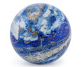 Lapidary Art:Eggs and Spheres, Lapis Sphere. Afghanistan. 2.99 inches (7.60 cm) in diameter . ...