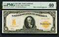 Fr. 1169 $10 1907 Gold Certificate PMG Extremely Fine 40