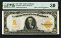 Large Size:Gold Certificates, Fr. 1170a $10 1907 Gold Certificate PMG Very Fine 30.. ...