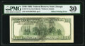 Offset Printing of Front to Back Error Fr. 2175-G $100 1996 Federal Reserve Note. PMG Very Fine 30