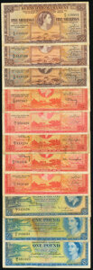 Bermuda Group of 11 Examples Fine-Very Fine. ... (Total: 11 notes)