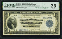 Fr. 714 $1 1918 Federal Reserve Bank Note PMG Very Fine 25