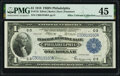 Fr. 716 $1 1918 Federal Reserve Bank Note PMG Choice Extremely Fine 45